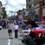 View of High Street during the 50s Fest and Car Cruise