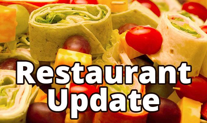 Restaurant Update